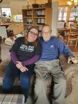 Grandpa and curstin